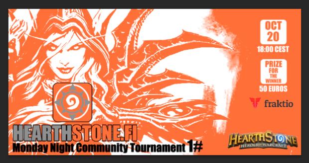 Hearthstone.fi community tournament